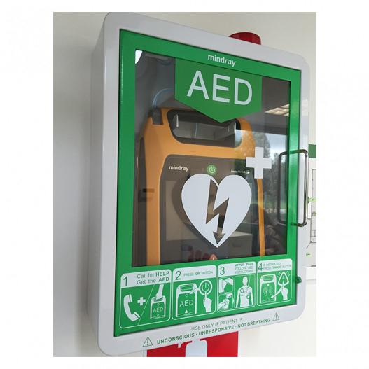 Mindray-AED-opbergkast